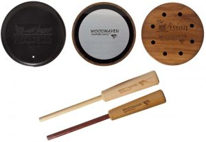 02 - Woodhaven Custom Calls The Vision Crystal Friction Turkey Call
