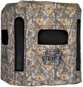 04 - Redneck Blinds Soft Side Camo 360 Hunting Blind