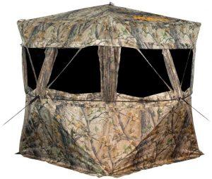 11 - Muddy Treestands VS360 Ground Blind - Epic Camo